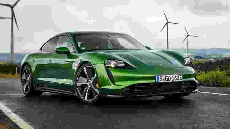 Porsche Taycan Turbo S 2020 - Divulgação - Divulgação