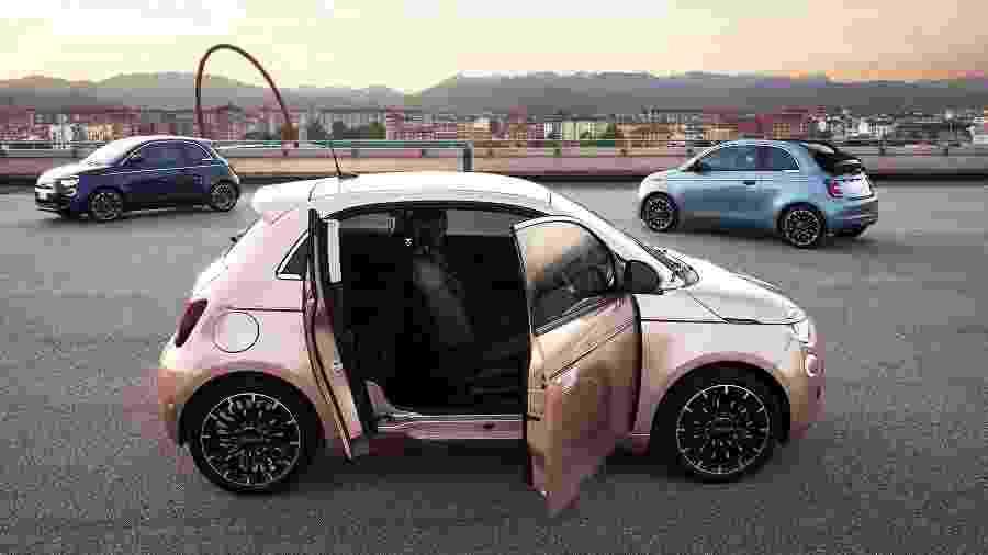 Fiat 500e com porta traseira - Divulgação