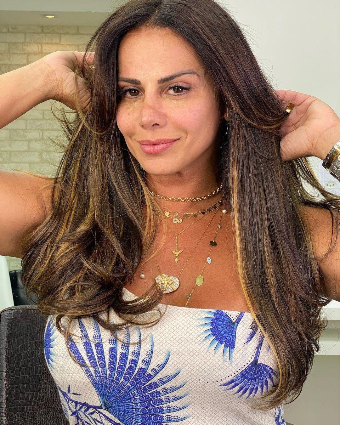 Viviane Araújo mostrou resultado nas redes sociais