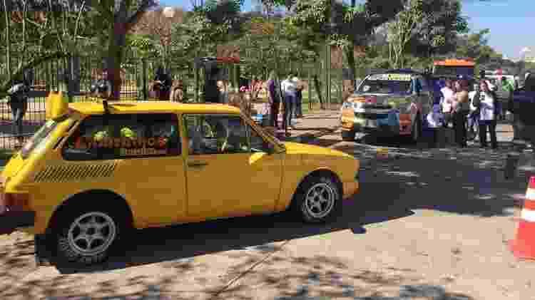 Brasília amarela Mamonas Assassinas Dinho - Arquivo pessoal - Arquivo pessoal