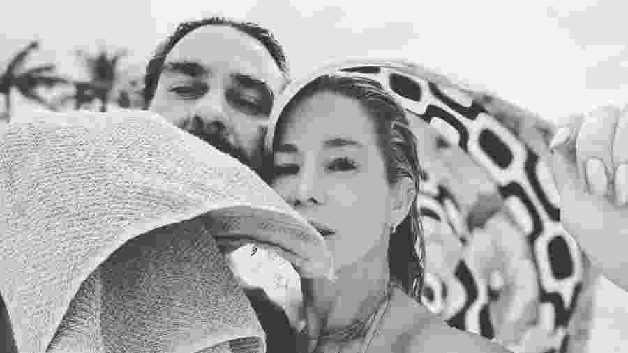 André Gonçalves e a mulher, Danielle Winits - Reprodução/Instagram @1andre.goncalves