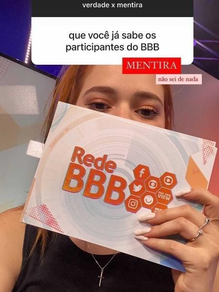 """Ana Clara faz parte da """"Rede BBB"""" - Reprodução/Instagram"""