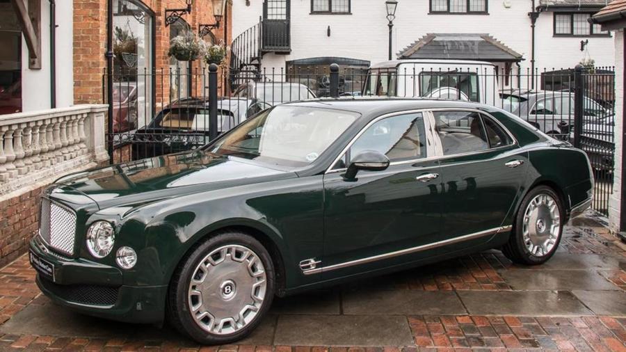 Bentley Mulsanne que foi da rainha Elizabeth II  - Divulgação