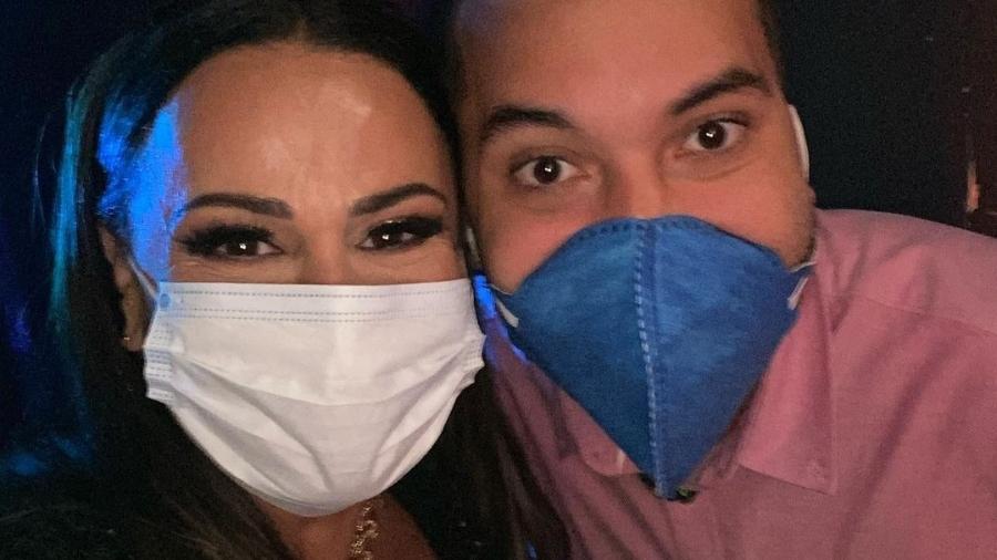 Viviane Araújo e Gil Nogueira, do BBB 21 - Instagram/@araujovivianne