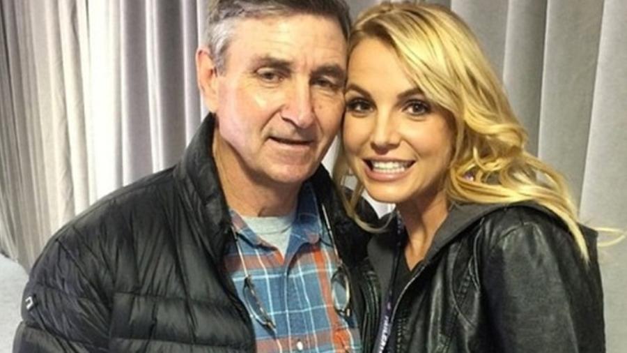 Britney Spears e o pai, Jamie Spears - Reprodução/Divulgação