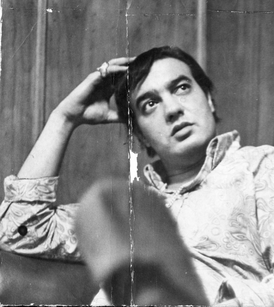 O cantor Erasmo Carlos, jovem, em foto de 1967