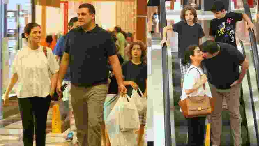 Miguel Athayde, novo chefão da Globonews, passeia com a mulher, Renata Vasconcellos, do JN, e os filhos - AgNews