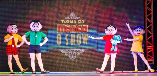 """""""Turma da Mônica O Show"""" volta a São Paulo em comemoração aos 80 anos de Mauricio de Sousa - Divulgação"""