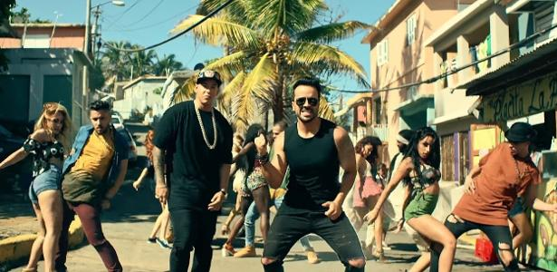 "Cena do clipe de ""Despacito"", de Luis Fonsi com Daddy Yankee"