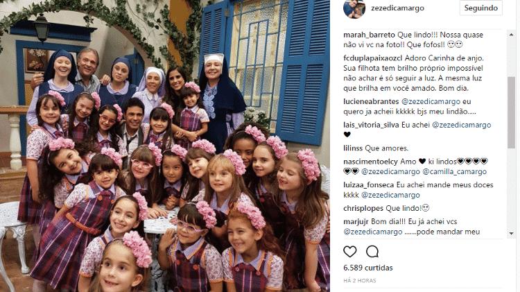 Zezé com a filha - Reprodução/Instagram - Reprodução/Instagram