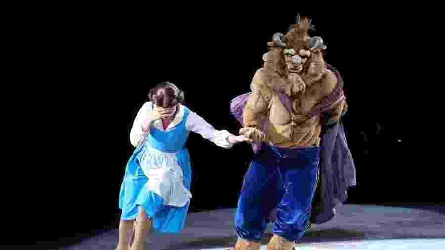 "Cena do espetáculo ""Disney On Ice"" do ano passado - Roberto Filho/Brazil News"