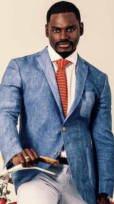"""O ator e modelo angolano Fredy Costa estará em """"Apocalipse"""", da Record - Reprodução/Facebook/Fredy Costa"""