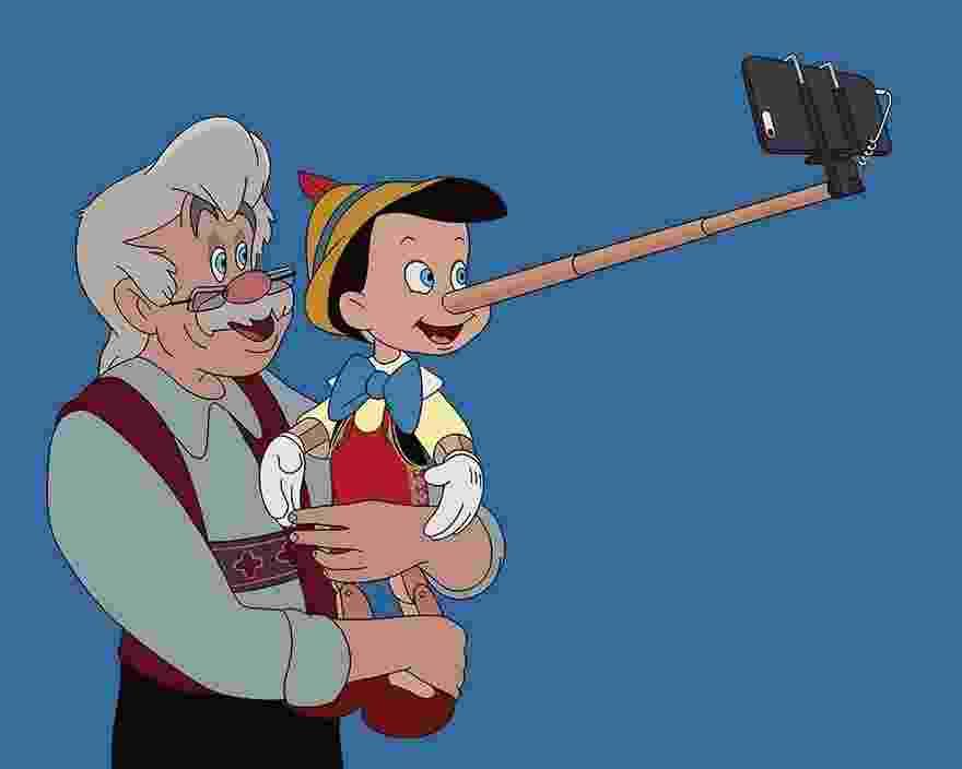O ilustrador Tom Ward usou os personagens da Disney para fazer uma crítica aos nossos hábitos modernos - Reprodução/Tom Ward