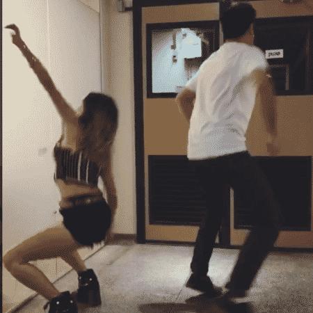 Nanda Costa e João Baldasserini dançam funk - Reprodução/Instagram