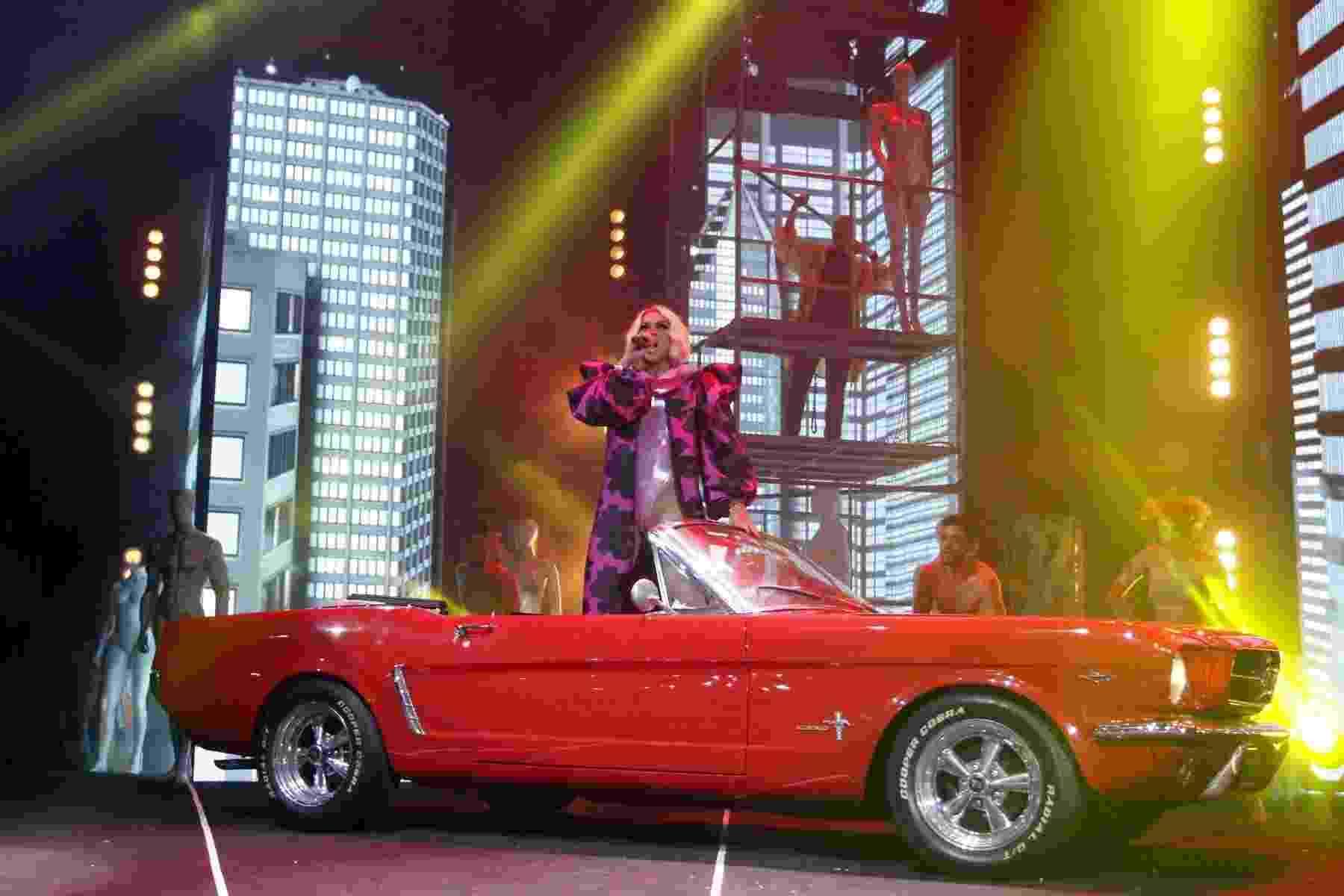 A drag Pabllo Vittar fez um show repleto de coreografias e super sensual no baile Chá da Alice, na Fundição Progresso, no Rio de Janeiro - Thyago Andrade/Brazilnews