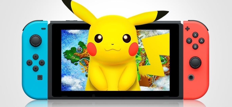 Switch Pokémon - Reprodução