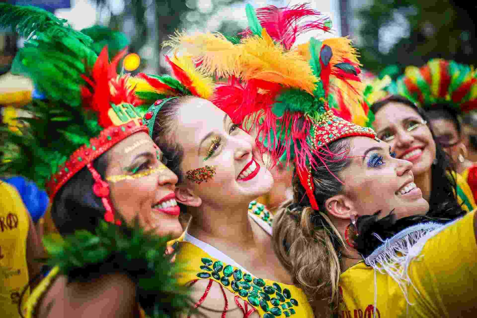 O bloco carioca Bangalafumenga existe há 20 anos e desfila há sete em São Paulo - Edson Lopes Jr./UOL