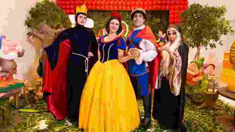 Amoroso e brincalhão, Kaysar ia de príncipe a super-herói para animar as crianças e ganhava R$ 150 por festa - Arquivo Pessoal - Arquivo Pessoal