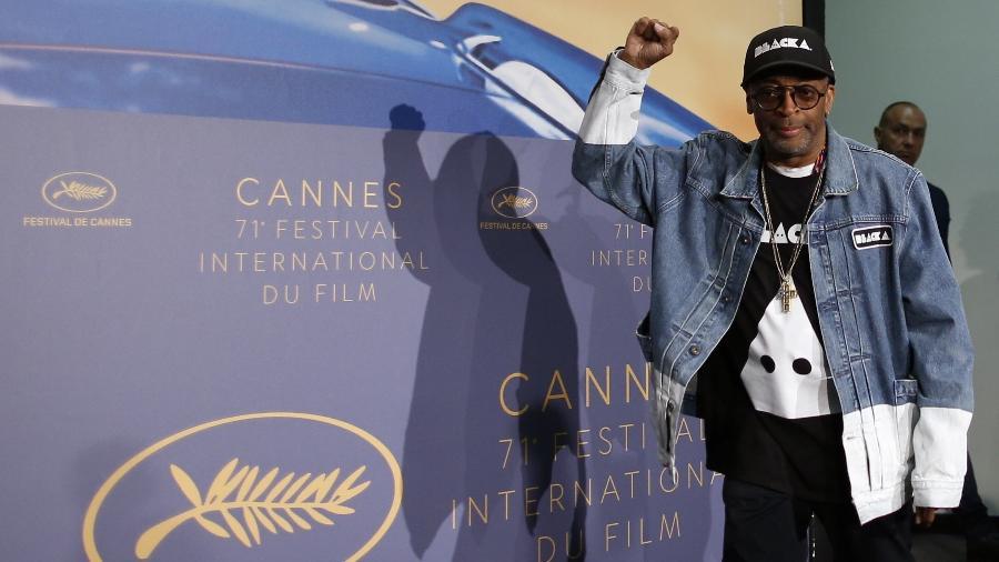 """O diretor e produtor Spike Lee volta a Cannes com o filme """"BlacKkKlansman"""" - Stephane Mahe/Reuters"""
