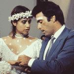 """Tony Ramos e Fernanda Torres formaram o casal Cristiano e Simone em """"Selva de Pedra"""" (1986) - Memória Globo"""