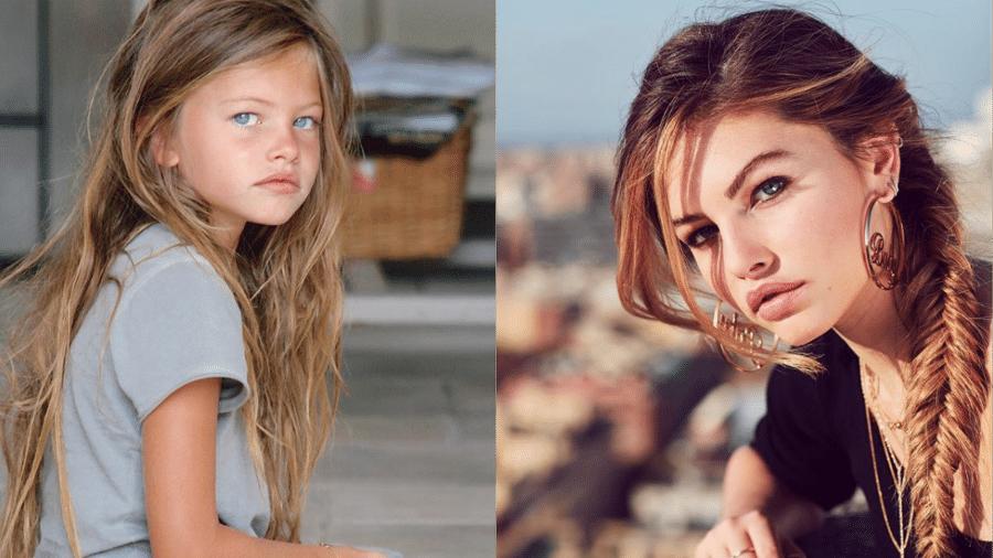"""A modelo francesa Thylane Blondeau, batizada pela internet como """"a menina mais bonita do mundo"""" quando tinha 6 anos - Reprodução/Instagram"""