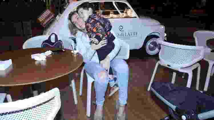 Fernanda Gentil e o filho Gabriel - J.Humberto/Ag.News - J.Humberto/Ag.News