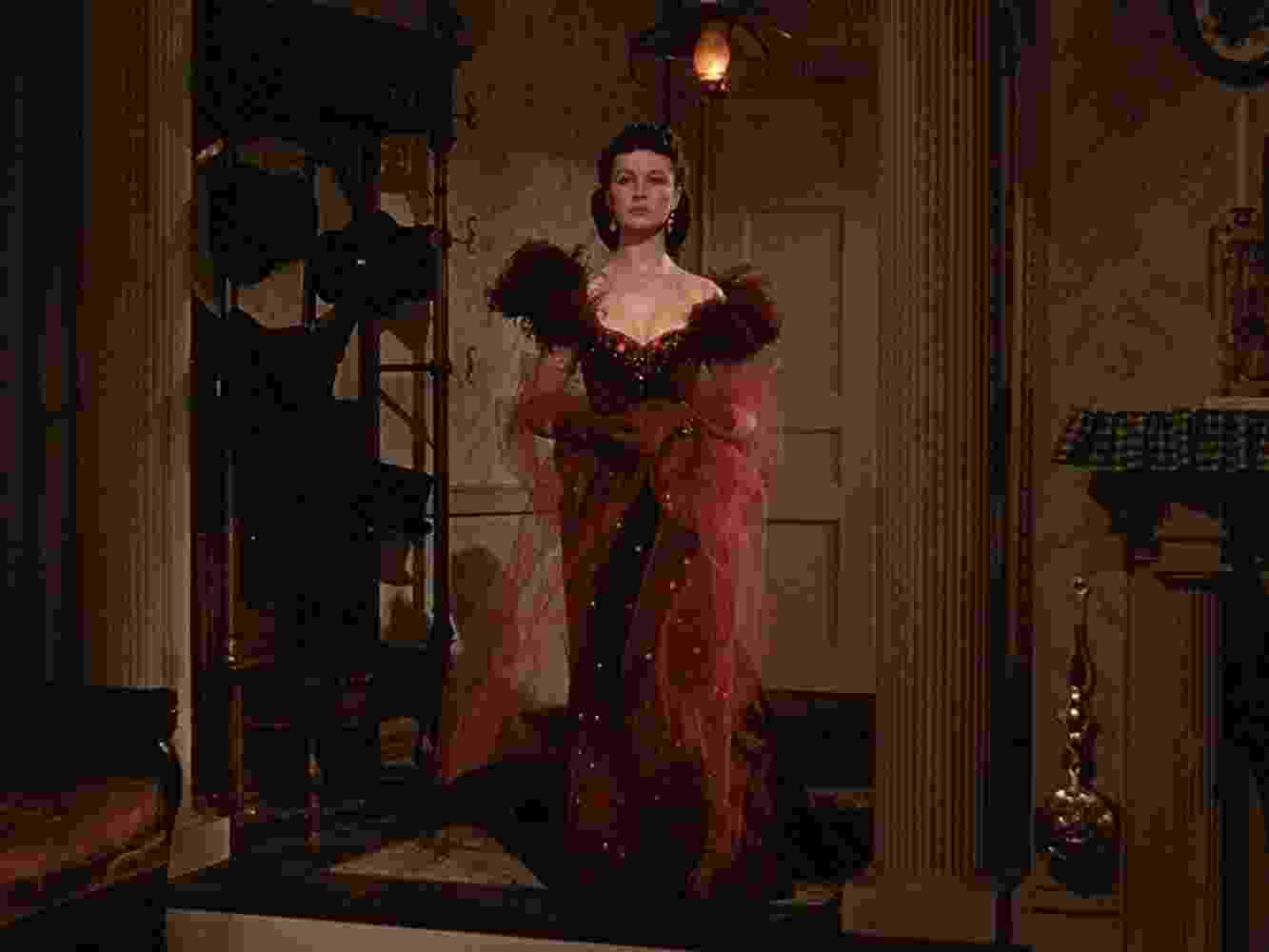 """Vivien Leigh em """"...E o Vento Levou"""" (1939) - Divulgação"""