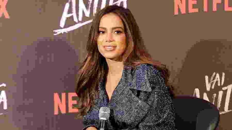 Anitta atendeu imprensa em São Paulo - Manuela Scarpa/Brazil News