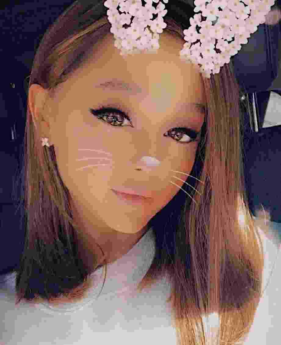 Ariana Grande de cabelo novo - Reprodução/Instagram