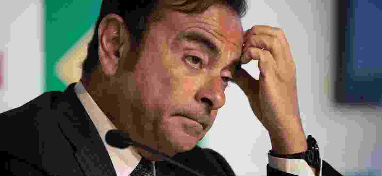 Carlos Ghosn Nissan - Vanderlei Almeida/AFP