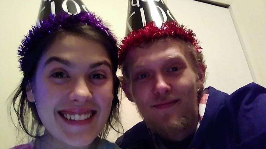 Dacia Pittman e Marcus Griffin são os pais de Everett e Amelia - Reprodução/Facebook/Marcus Griffin