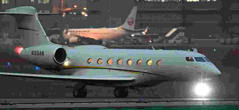 Jato que trouxe Carlos Ghosn a Tóquio, em 19 de novembro. Desde então, tudo mudou para o executivo - Takuya Isayama/Asahi Shimbun