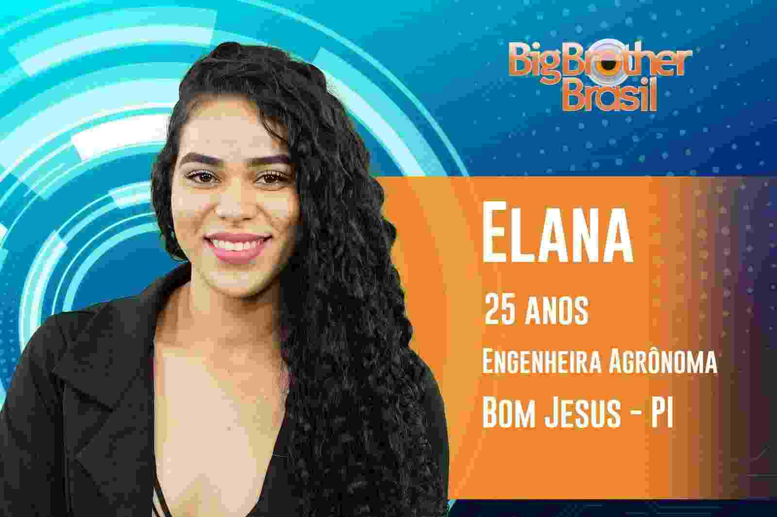 """Elana é a quinta participante anunciada do """"BBB19"""" - Reprodução/TvGlobo"""