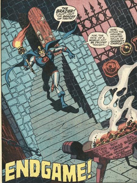 """Trecho da HQ """"Vingadores #71"""", lançada em 1969 - Reprodução - Reprodução"""