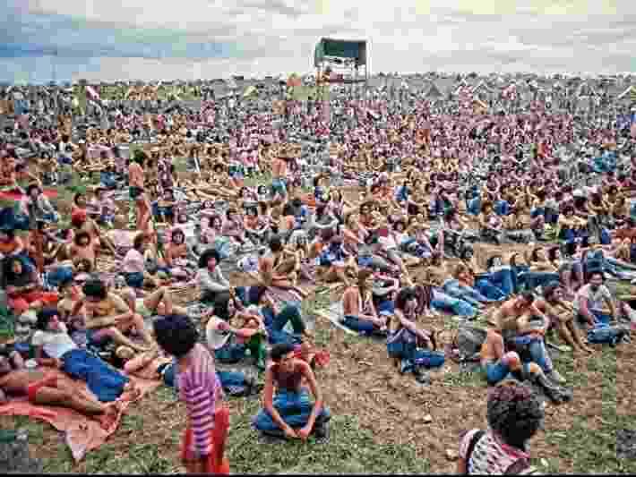 Imagens do Festival de Águas Claras, que aconteceu entre 1975 e 1984 - Reprodução
