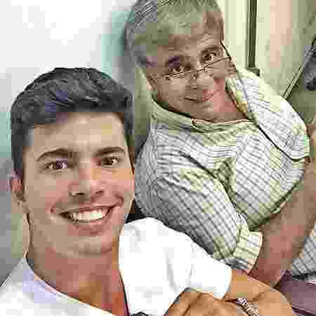 Filho de Wagner Montes homenageia o pai, que morreu aos 64 anos - Reprodução/Instagram