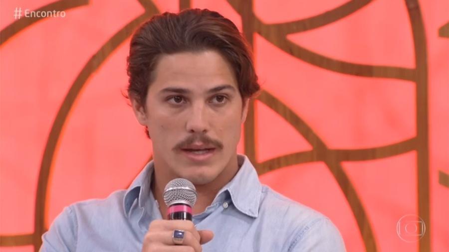 """Rômulo Arantes Neto no """"Encontro""""  - Reprodução/Globo"""