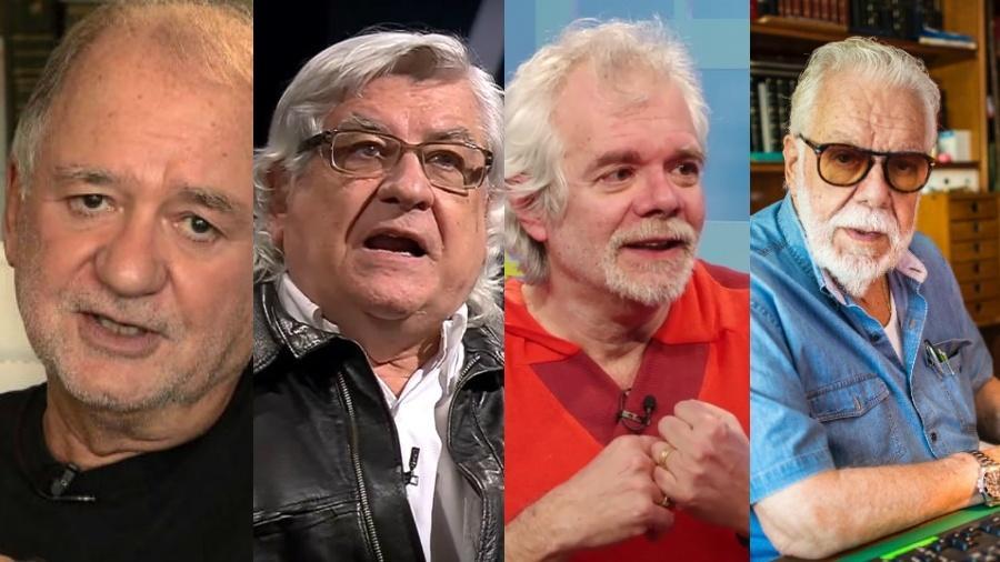 Alguns autores famosos já não escrevem para a TV há algum tempo - Reprodução/Montagem UOL