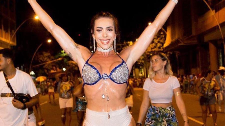 Priscila Reis vem malhando muito para chegar no melhor da forma física no Carnaval - Divulgação