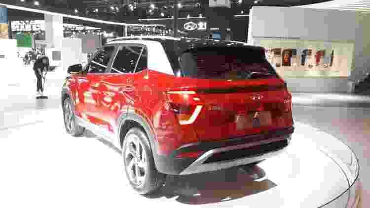 Hyundai Creta 2020 ix25 Salão de Xangai - Vitor Matsubara/UOL - Vitor Matsubara/UOL