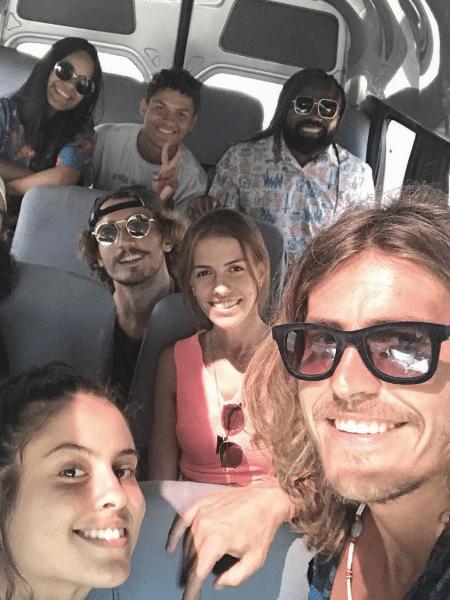 """Parte da turma da """"Gaiola"""" viaja junta - Reprodução/Instagram"""