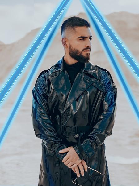O cantor colombiano Maluma, estrela do reggaeton - Divulgação