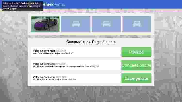GTA Online 4 - Reprodução - Reprodução