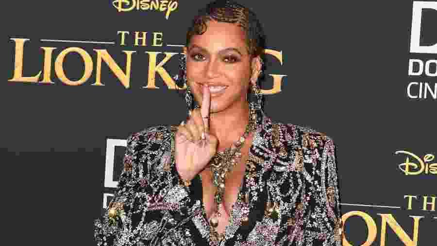 Beyoncé é natural do Texas, nos EUA, e afirma o orgulho de ser negra em suas músicas - ROBYN BECK/AFP/Getty