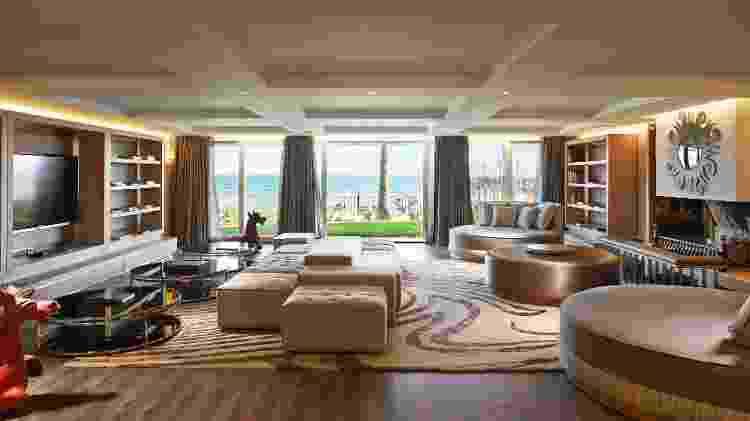 Vista para o Mar Mediterrâneo em dos quartos da Villa del Mar  - Belen Arriaza/Marbella Club Hotel