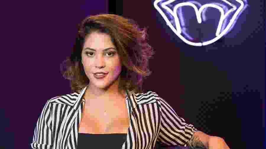 A influencer digital Dora Figueiredo nos estudios MOV - Leo Martins/UOL