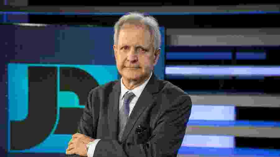 Augusto Nunes é anunciado pela Record  - Edu Moraes/Divulgação Record TV