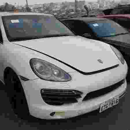 Porsche Cayenne vendido em leilão do Detran-SP - Divulgação