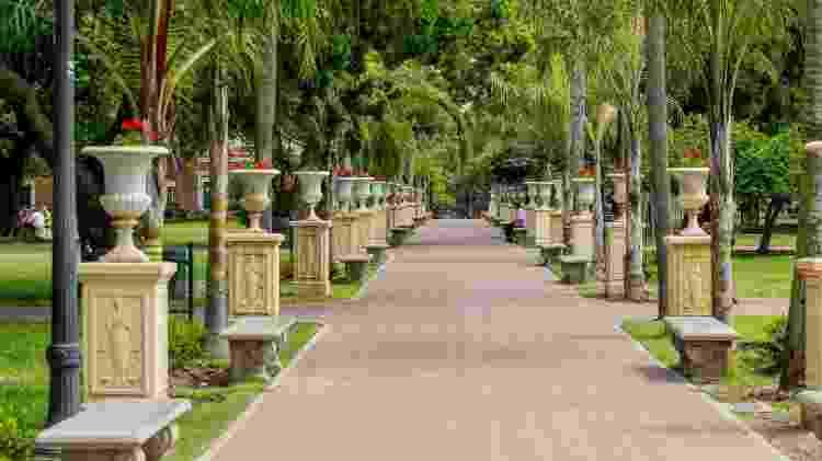 Parque Lenzama: agradável ponto de descando no tour por San Telmo - Ente de Turismo de Buenos Aires/Divulgação