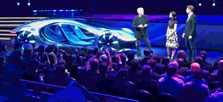 """Cineasta James Cameron participou da apresentação do conceito Vision AVTR em Las Vegas; protótipo é inspirado no longa """"Avatar"""" - Ricardo Ribeiro/UOL"""